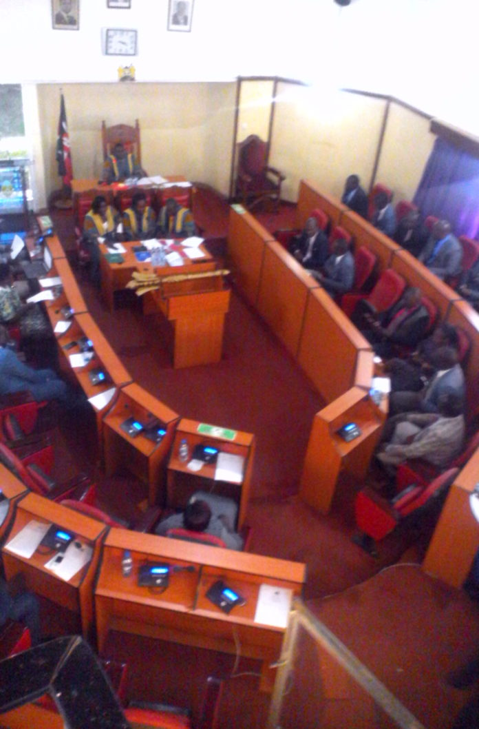 Nandi MCAs have passed the Ward Development Fund Bill