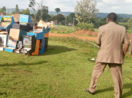 The Bungoma County Commissioner led the exercise
