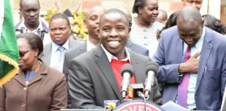 Nandi Governor Stephen Sang denied allegations that bursaries meant for students were unaccounted for