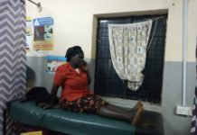 One of the victims at Lumakanda Sub County Hospital