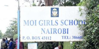 Education CS Amina Mohammed ordered the disbandment of the school's board coupled with the one week closure