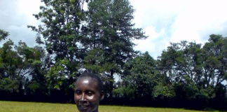 The Nandi veterans athletics team is led by Truphena Chemutai