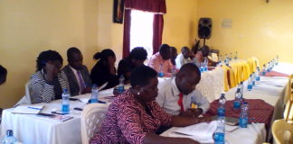 The Lake Region Economic Bloc officials' meeting in Nandi