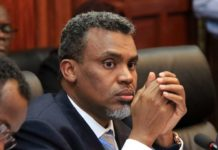 The Director of Public Prosecutions Noordin Haji has shown the tough side of the war on corruption