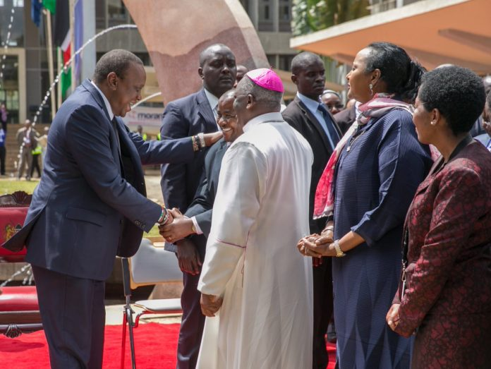 President Kenyatta has called for a review of the delocalization programme
