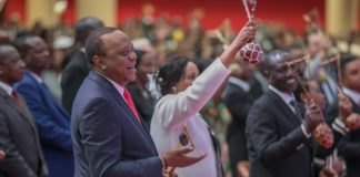 President Uhuru Kenyatta has affirmed the war against impunity must go on