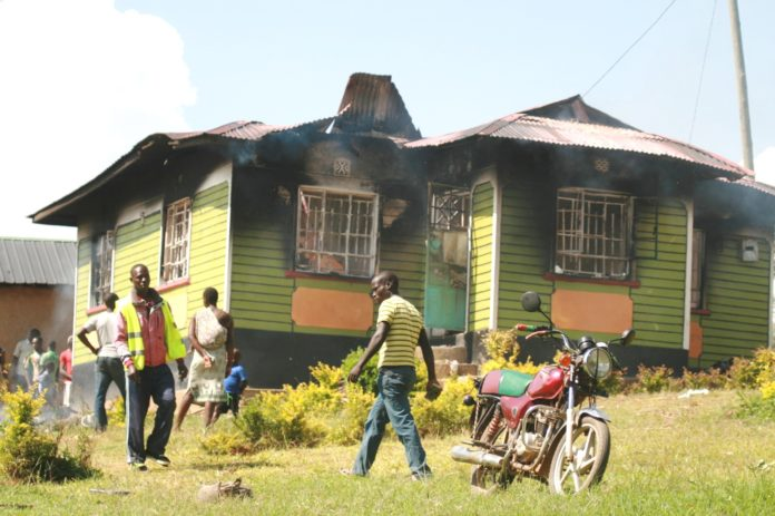 The incident comes a few days after villagers in Sabatia Sub County lynched women suspected to be witches