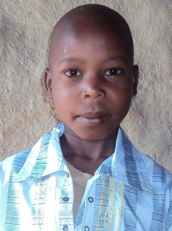 Photo of the missing boy, Collins Kiprotich