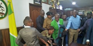 Nairobi MCAs stormed city hall to eject speaker Beatrice Elachi