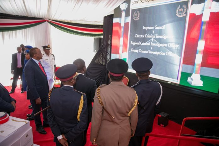 Interior CS Fred Matiang'i said the police force reforms introduced by President Kenyatta don't mean any service has been abolished