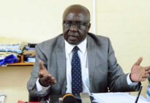 MMUST VC Prof. Fred Otieno in his office