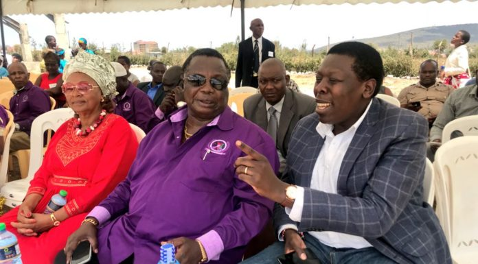COTU boss Francis Atwoli and Devolution CS Eugene Wamalwa have supported calls for a referendum