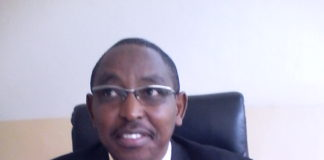 County Director of Education Nandi Mr Lawrence Karuntimi