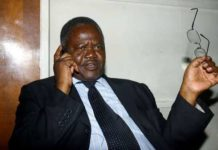 The late Chris Wanjala died on Monday morning after a short illness