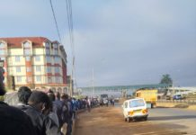 Kenyans stranded as police traffic crackdown kicks off