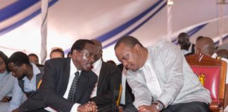 President Uhuru Kenyatta has urged leaders to work together. (PHOTO/PSCU)