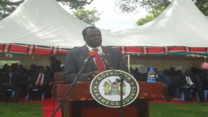 Wiycklife Oparanya the Kakamega County Governor