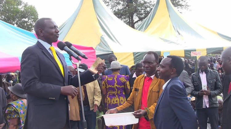 Ruto at Gituamba