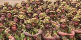 The KDF recruitment exercise