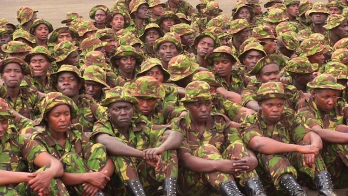 The KDF recruitment exercise started on Monday 12th February countrywide