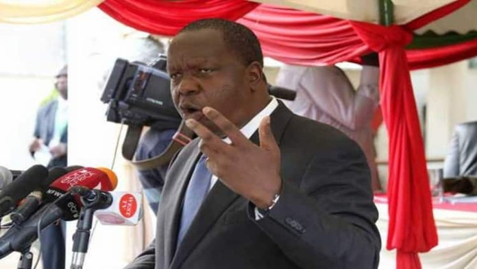 Interior CS Dr. Fred Matiang'i has insisted TV stations that were off-air will remain shut down
