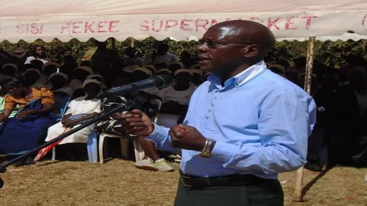 Senator Bonny Khalwale was left disappointed by the state of the health sector in Kakamega County