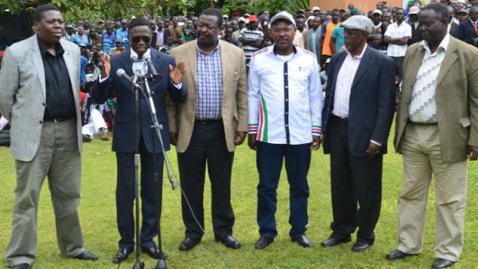 The Luhya nation led by its leaders should have a sole belief system to spur the community