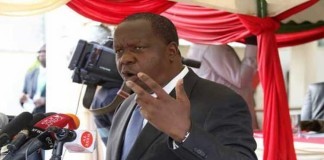 Interior CS Fred Matiang'i. FILE PHOTO