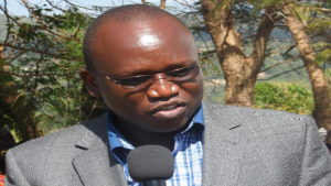 Teso North Member of Parliament Arthur Odera , whistling