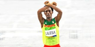 Ethiopian athlete, Feyisa Lilesa, is reluctant to go back home