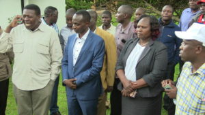 Eugene Wamalwa in a functio