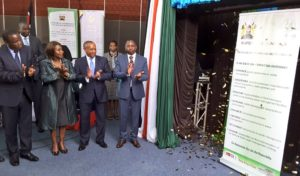 Judy Wakhungu during launch of the RRI