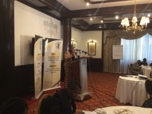 KNCHR commissioner speaking at launch of inquiry