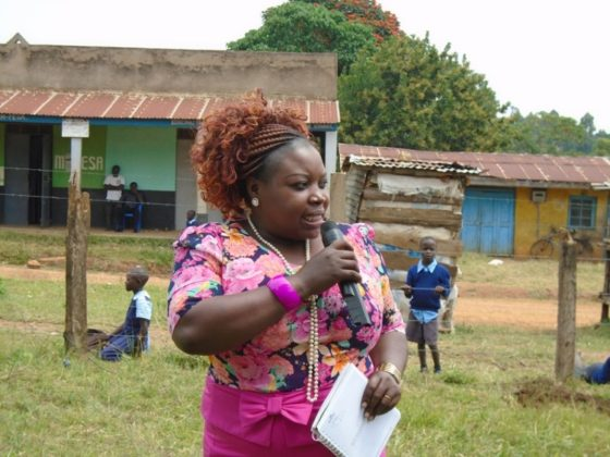 Kakamega County Chief Advisor on Special Programmes and Gender Affairs Peninah Mukabane
