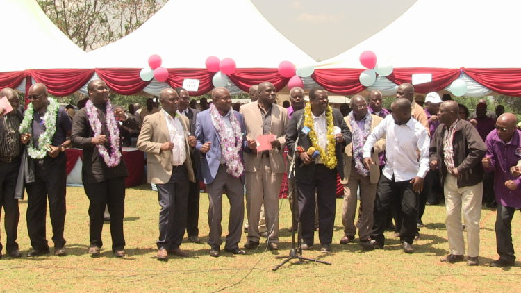 Leaders from the Western region shouldn't be complainers but provide solutions to problems like Luhya unity