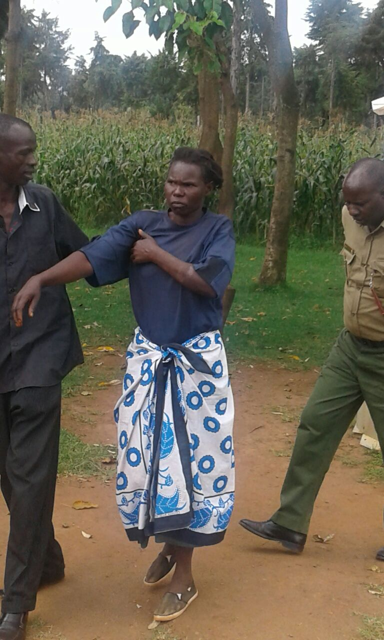 Hellen Nanjala, the wife, attacked her husband after bought a piece of land without consulting her
