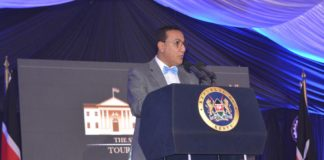 Tourism Cabinet Secretary Najib Balala insisted the private sector must cooperate with the government to ensure tourism thrives in Kenya