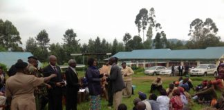 Musikoma residents present as the chairman of the initiative in Musikoma called on the County government to support efforts to stabilize their efforts