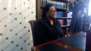 Justice Ali Abida Aroni was asked different questions, including how she would tackle corruption and clearing of backlog