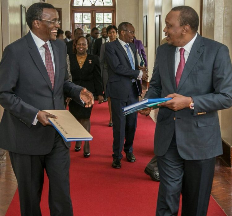 Judge David Maraga has a solid reputation in the field of law