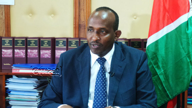Majority leader Aden Duale