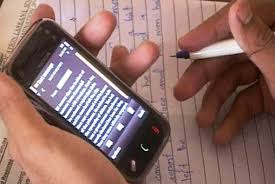 Exam cheating is more than a problem at the moment, with new methods being devised everywhere