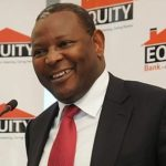 Equity Bank CEO Dr. James Mwangi