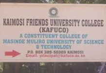 Kaimosi Friends University College have changed opening dates, citing financial constraints as one of the reasons
