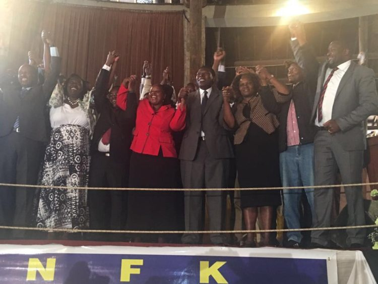 New Ford Kenya officially dissolved to join Jubilee ahead of the party's official launch on Saturday