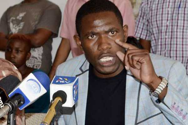 KMPDU Secretary General Dr Ouma Oluga has urged doctors in Nairobi to go back to work