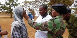 KNCHR noticed some flaws in the police recruitment process