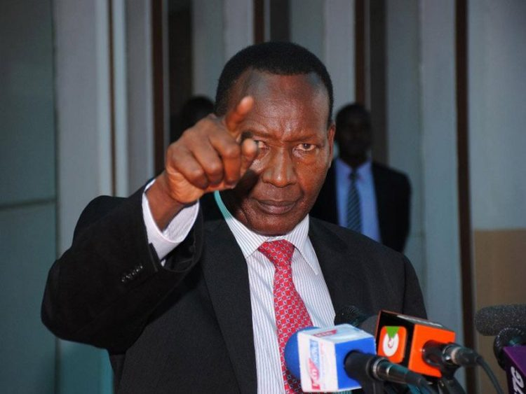 CS Joseph Nkaissery has condemned the publishing of nonfactual information by the Nation newspaper