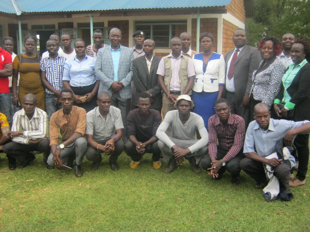 Deputy Governor with Kimilili power house youths.