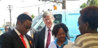 Director of Medical Services Dr. Jackson Kioko at the commemoration of the World Mental Health Day at KNH
